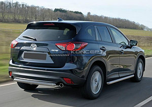 Защита заднего бампера d57 Mazda CX-5 2011-2015-2017