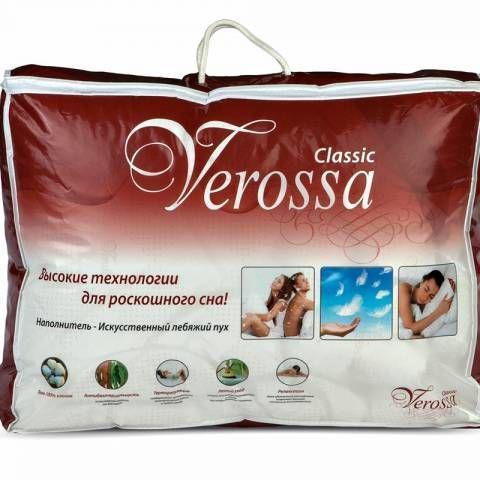 """Одеяло """"Verossa"""" классическое (1,5 спальное, искусственный лебяжий пух, 140х205 см)"""