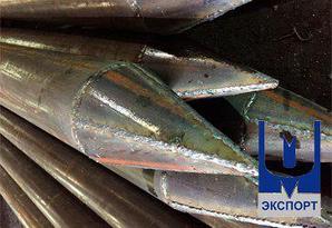 Трубы под сваи восстановленные
