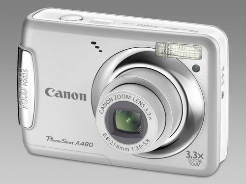 Фотоаппарат Canon PowerShot A480 Silver