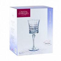 Набор хрустальных бокалов для вина Lady Diamond 190 мл (6 штук)