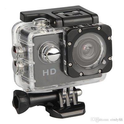 Экшн-камера с подводным боксом в комплекте