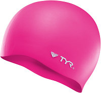 Шапочка для плавания TYR Wrinkle Free Silicone Cap 693 Розовый