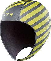 Шапочка для плавания TYR Hi-Vis Neoprene Swim Cap размер L