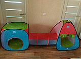 Игровая Палатка домик с тоннелем, фото 4