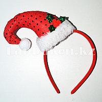 Ободок Шапочка Санта-Клауса