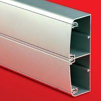 DKC Алюминиевый кабель-канал 140х50 (с 2 крышками), цвет серебристый металлик, фото 1