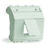 DKC Адаптер для информационных разъемов Keystone, белый, 2 мод.