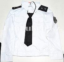 Костюм генерал-лейтенанта полиции детский (белый)