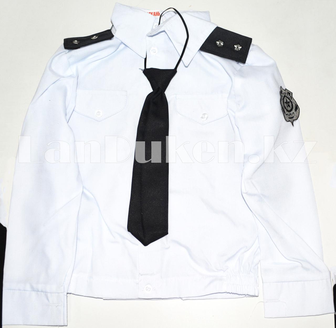 Костюм генерал-лейтенанта полиции детский (белый) - фото 1