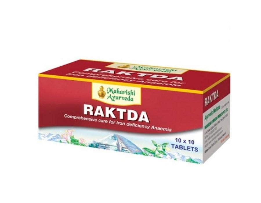 Рактда, Raktda, Maharishi Ayurveda,стимулирует кровообразование очищает кровь и лимфу от токсинов.