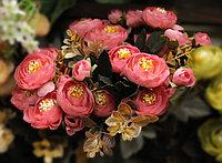 Цветы искусственные, розы, красные