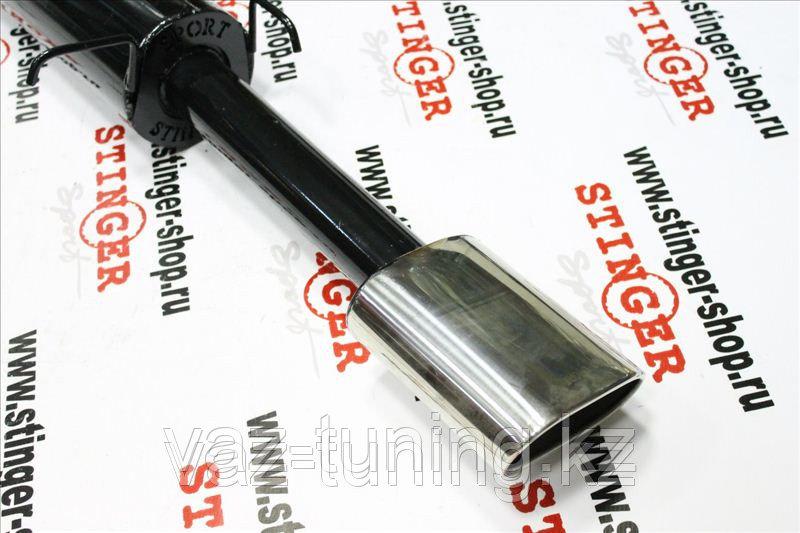 Глушитель основной для а/м ВАЗ 2115 с насадкой без выреза бампера