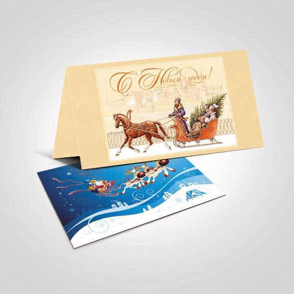 Изготовление открыток с логотипом - фото 5