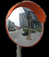 Дорожное сферическое зеркало 1000 мм (с козырьком)