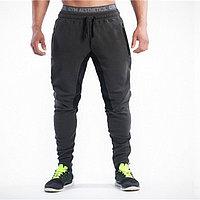 Зауженные штаны Gym Aesthetics темные с черным 2XL