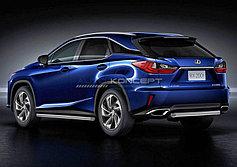 Обвес, защита бамперов, порогов из нержавеющей стали Lexus RX 2015-