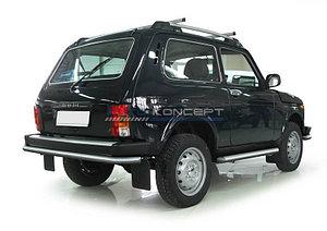 Защита заднего бампера d57 Lada 4х4 3d 1993-
