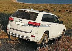 Обвес, защита бамперов, порогов из нержавеющей стали Jeep Grand Cherokee 2013-