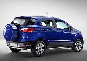 Защита заднего бампера d57 Ford Ecosport 2014-
