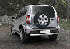 Обвес, защита бамперов, порогов из нержавеющей стали Chevrolet Niva 2009-