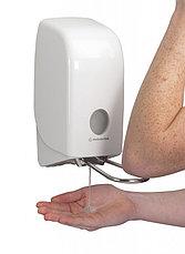 Диспенсер для жидкого мыла с локтевым приводом Aquarius 6955, фото 2