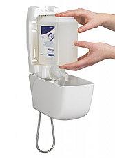 Диспенсер для жидкого мыла с локтевым приводом Aquarius 6955, фото 3