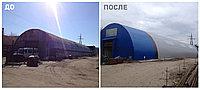Монтаж ангаров, складов,ворот, фото 1