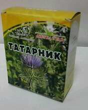 Татарник, лист, 25 г