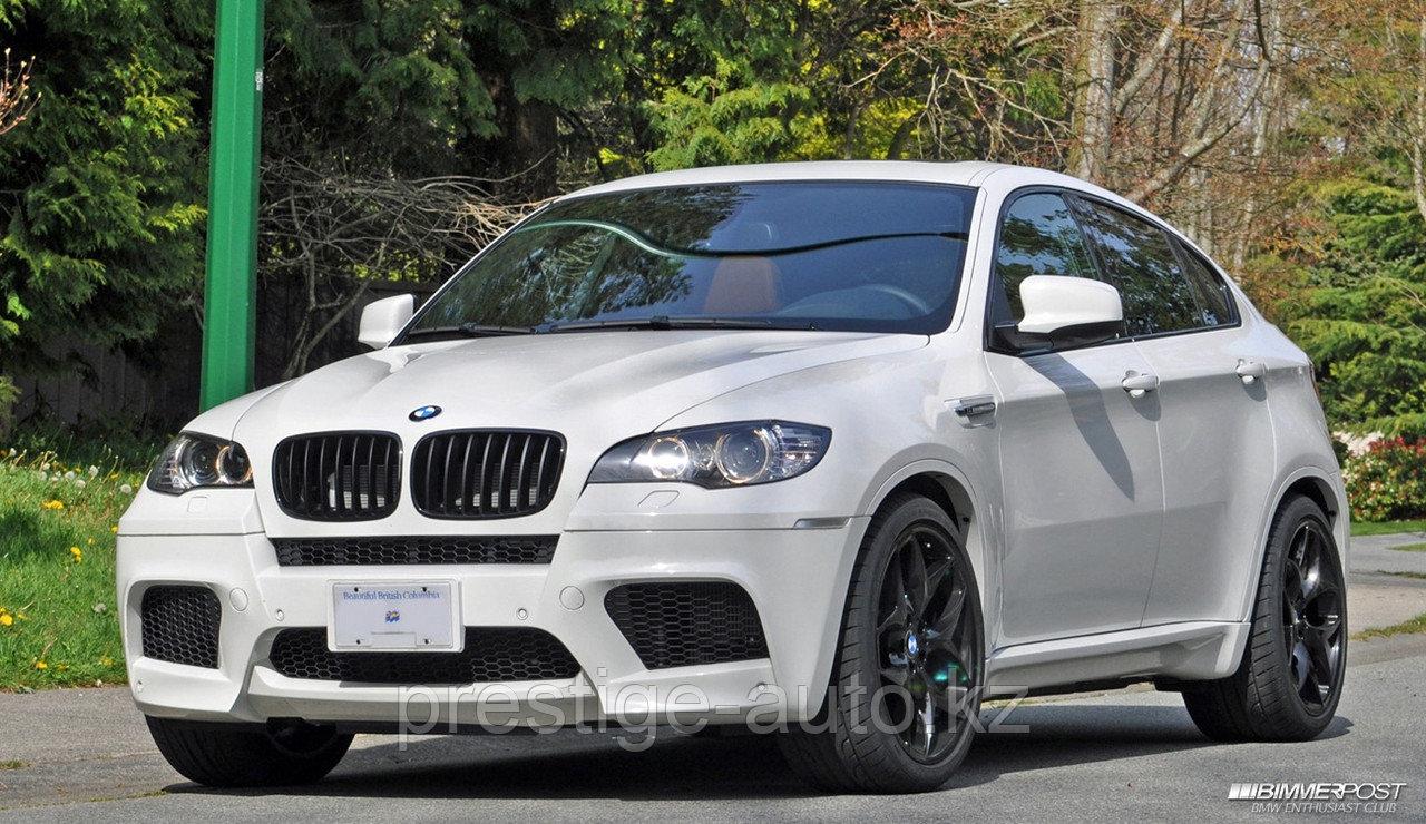 Бампер передний на BMW X6