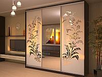 Шкафы купе с декоративным оформлением наши телефоны 87083730111