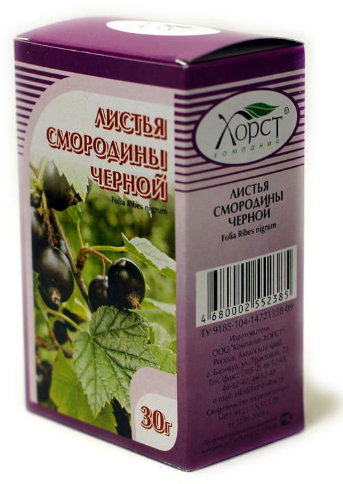 Смородины черной лист, 30 г