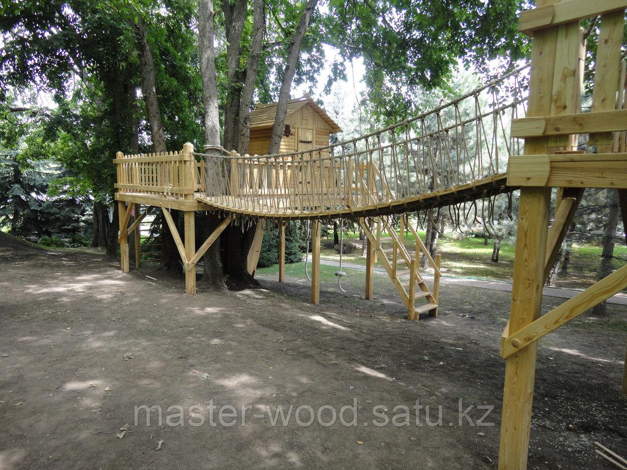 Деревянные садовые домики и домики на деревьях - фото 2