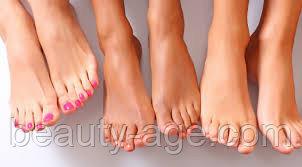 Элос эпиляция пальцев ног и стопы