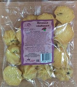 Печенье Забава (с изюмом), Чудесница без глютена 200 гр