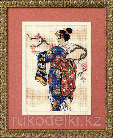 """Набор для вышивания крестом """"Японка"""""""