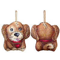 """Набор для вышивания крестом """"Игрушка. Собачка"""""""