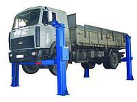 Электромеханические подъемники для грузовых автомашин и автобусов