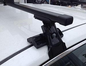 Багажник D-1 на гладкую крышу с прямоугольными дугами 130 см