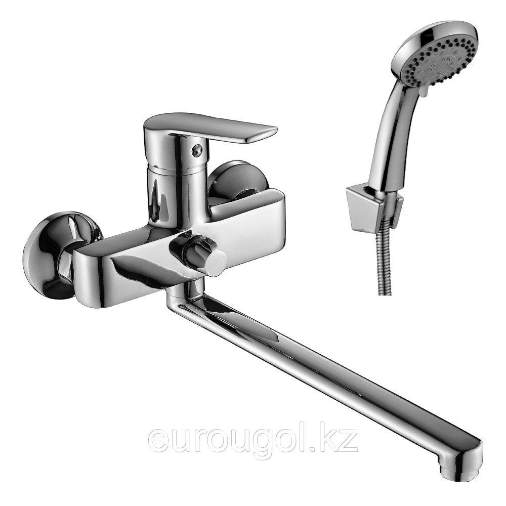 Смеситель для ванны с длинным изливом DecoRoom 38043