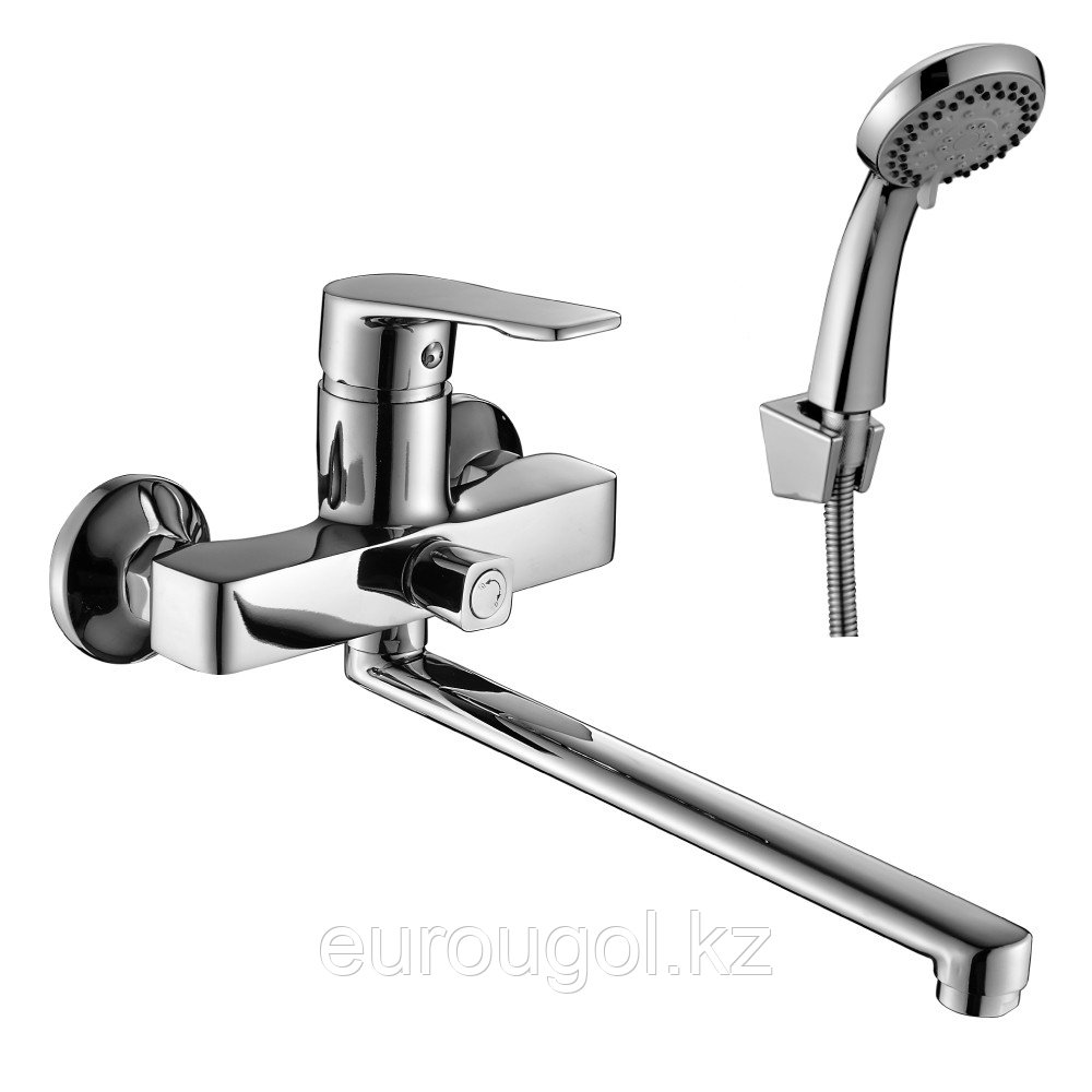 Смеситель для ванны с длинным изливом DecoRoom 39043