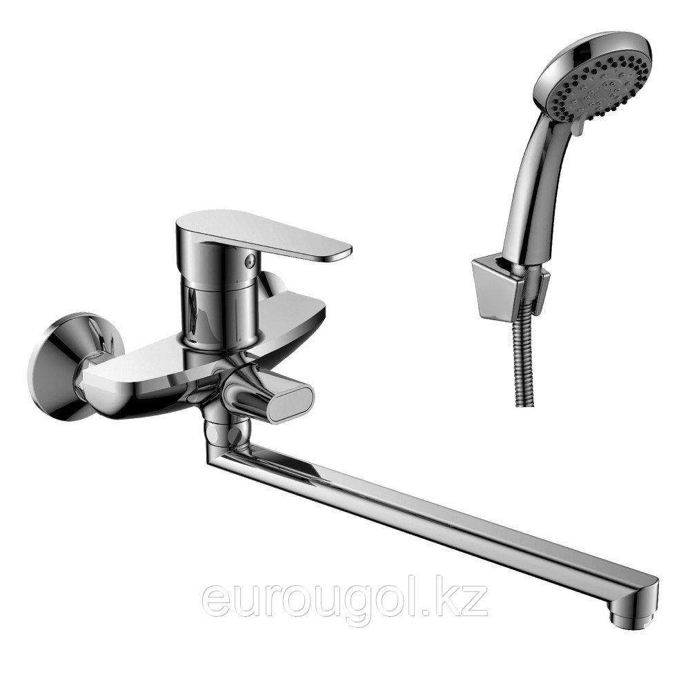 Смеситель для ванны с длинным изливом DecoRoom 69043