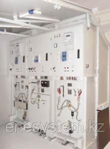 Комплектные распределительные устройства наружной установки серии КРУН КНВ 10