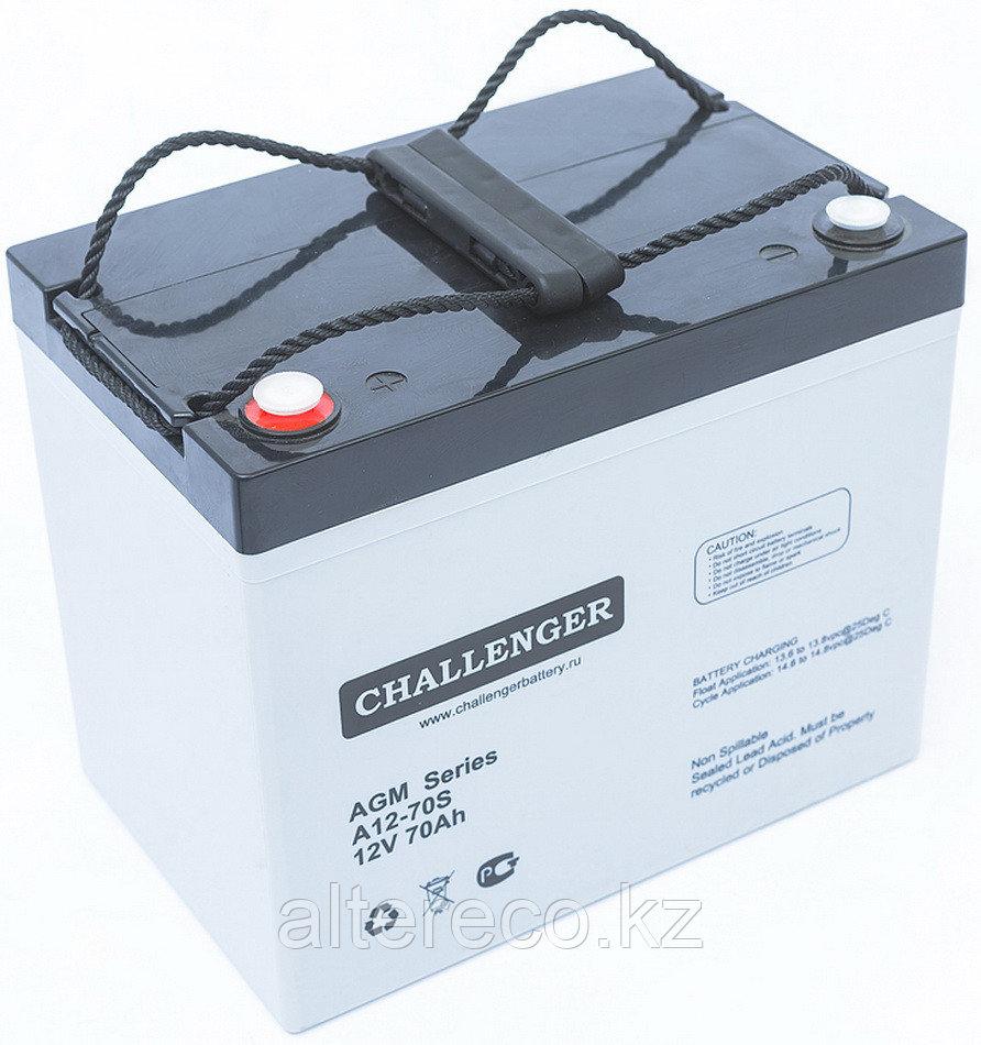 Аккумулятор Challenger A12-80 (12В, 80Ач)