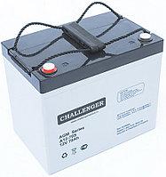 Аккумулятор Challenger A12-80 (12В, 80Ач), фото 1
