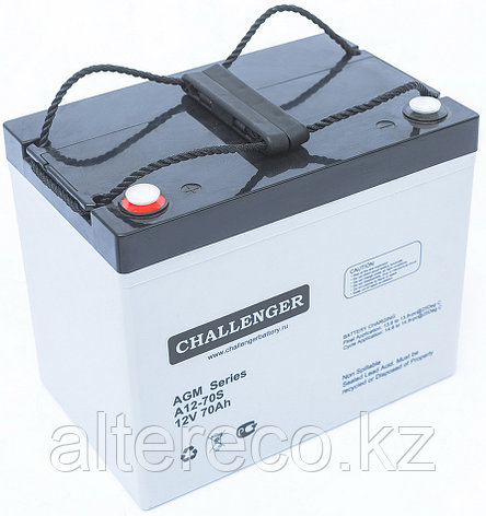 Аккумулятор Challenger A12-80 (12В, 80Ач), фото 2