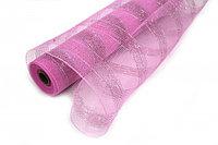 Сетка рулонная, крупная, фиолетовая, фото 1