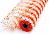 Сетка рулонная, крупная, оранжевая, фото 1