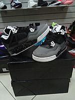 Баскетбольные кроссовки Nike Air Jordan IV (4) Retro черные