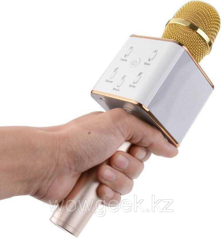 Микрофон Караоке со встроенным динамиком Q7